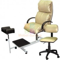 Педикюрная группа Надир Люкс со стулом для мастера Сеньор M