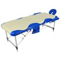Массажный стол складной алюминиевый с волной JFAL01A (МСТ-102Л) М