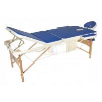 Массажный стол складной деревянный JF-AY01 3-х секционный М/К М