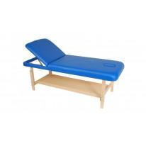 Стационарный массажный стол деревянный FIX-1A (немецкий бук) М