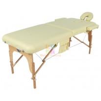 Массажный стол складной деревянный JF-AY01 2-х секционный (МСТ-003Л) М
