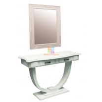 Рабочий стол стилиста+зеркало ВИНТАЖ M
