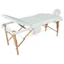 Массажный стол складной деревянный JF-AY01 3-х секционный М/К (МСТ- 103Л) М