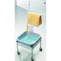 Мобильная ванночка для ног пластиковая Ionto Blue M