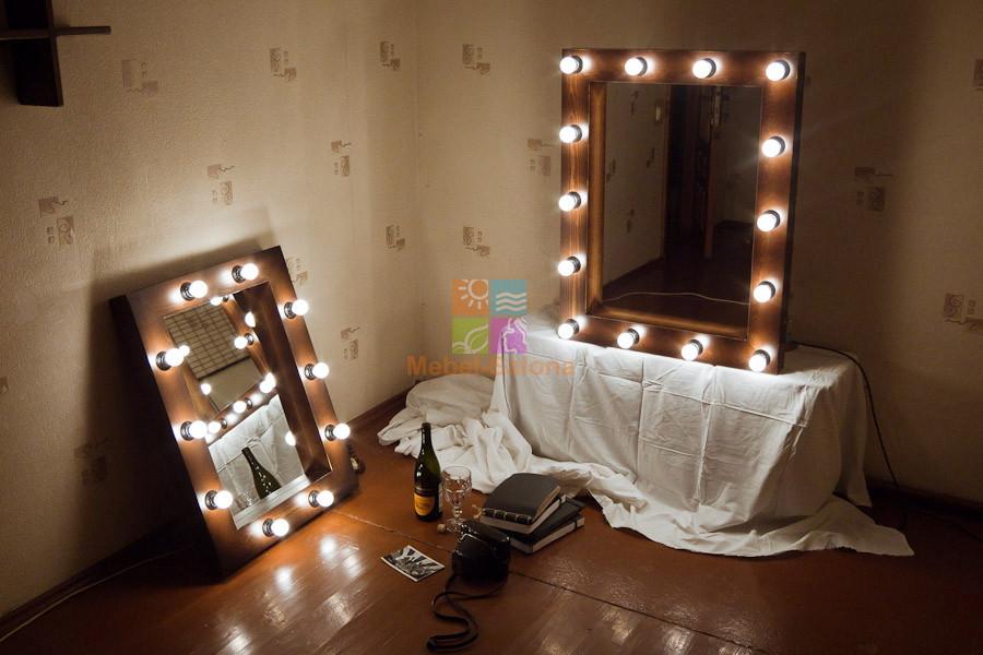 Зеркало для макияжа с подсветкой своими руками