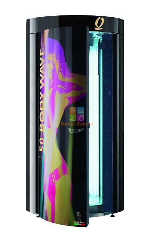 Установленная в нашем клубе новейшая модель вертикального турбо солярия итальянской фирмы q-med позволит вам